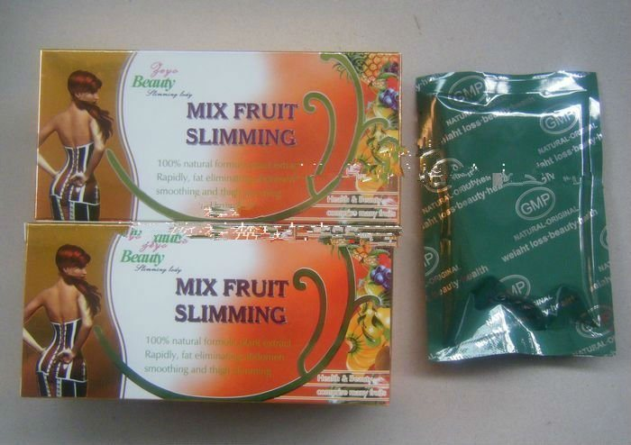 Mix Fruit - Natural New Slimming Capsule Diet Pill Weigh Loss