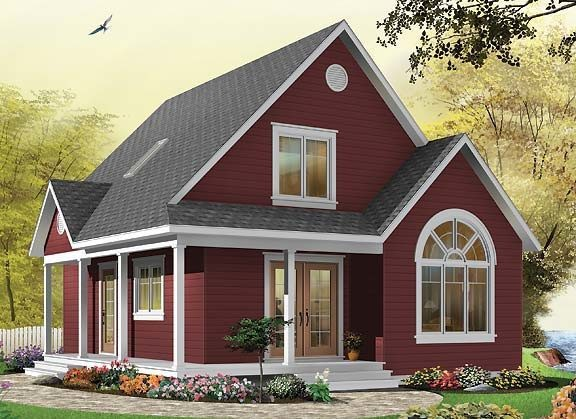Prefabricated Wooden House W3507