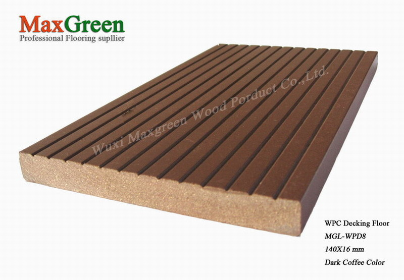 China wood plastic composite decking 1035 china for Plastic composite decking