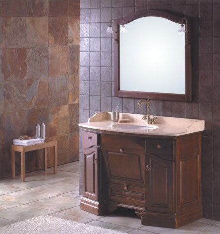 Bathroom Cabinets on Oak Antique Traditional Vanities  Bathroom Cabinet  1307      China