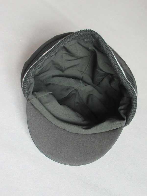 Black Jersey Reflective Printing Bicycle Cycling Cap for Winter