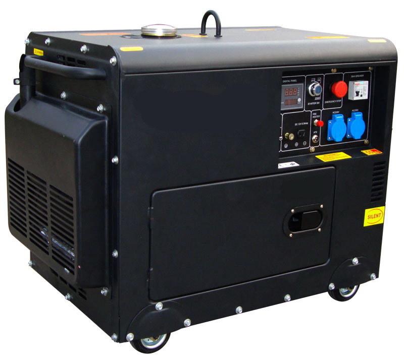 Yangdong Ewin Light Industrial Products Ltd: Soundproof Diesel Generator