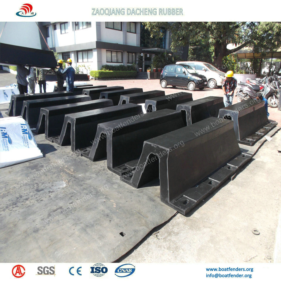 Easy Installed Marine Rubber Fenders for Construction Project