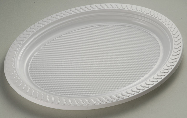 Easylife V3023 (30X23cm) PS Oval Plate White