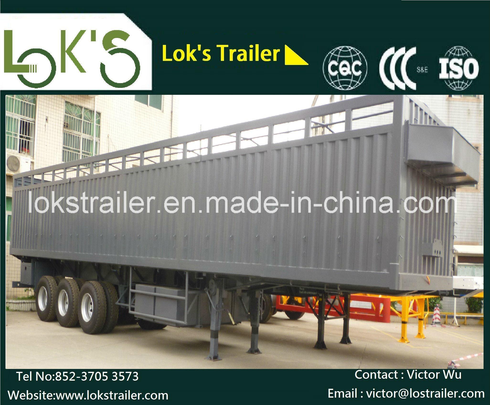 40 Feet 3axle Side Wall Semi Trailer
