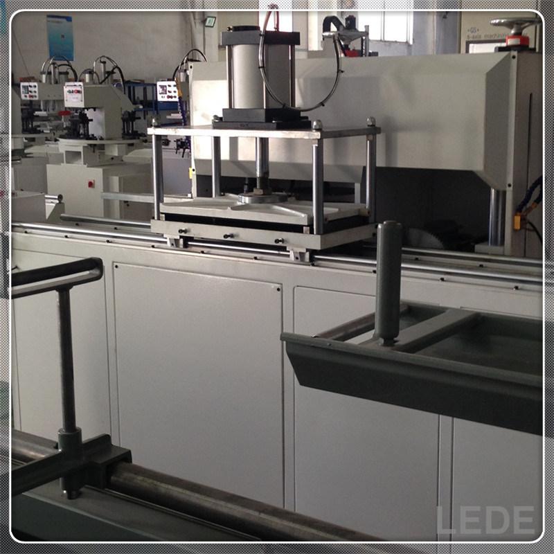 Aluminum Window Machine Heavy Duty Auto End-Milling Machine 5 Cutters