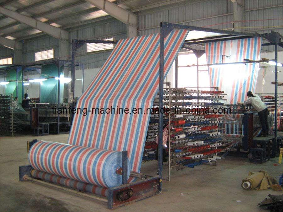 PE Tarpaulin Making Machine