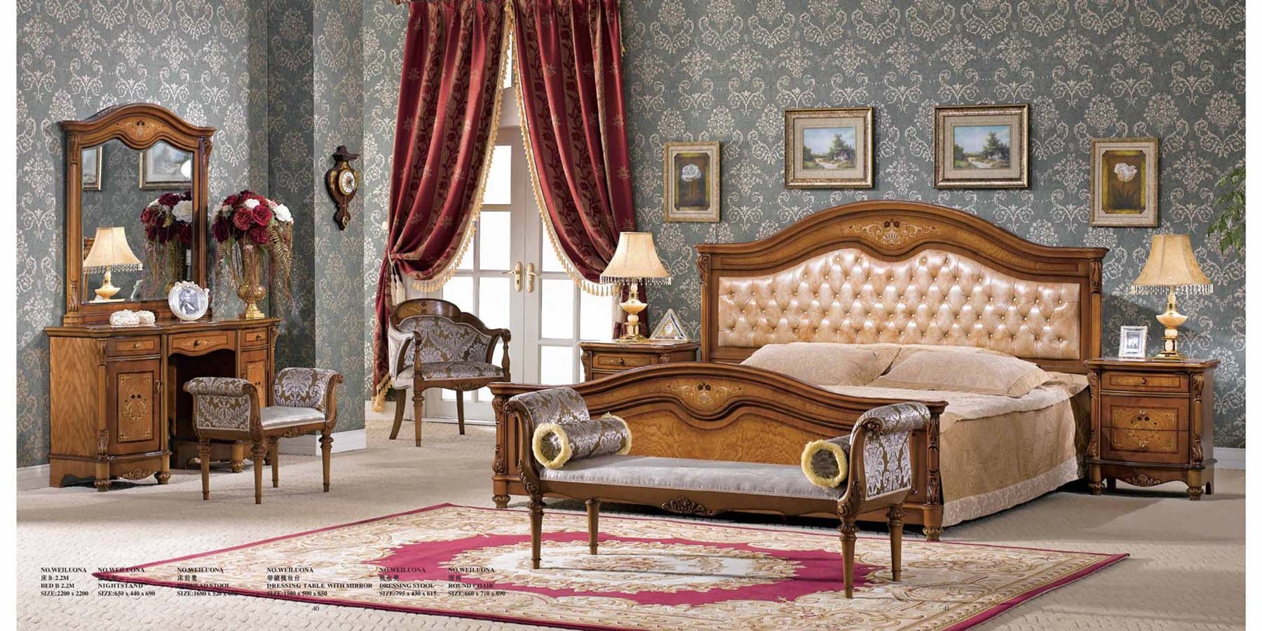 China Bedroom Set Weiluona China Furniture Classical Furniture