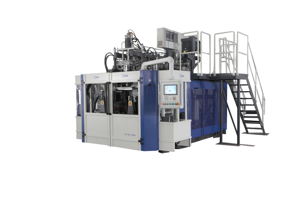 Blow Molding Machine B20d-750 2 Stations 2 Cavities