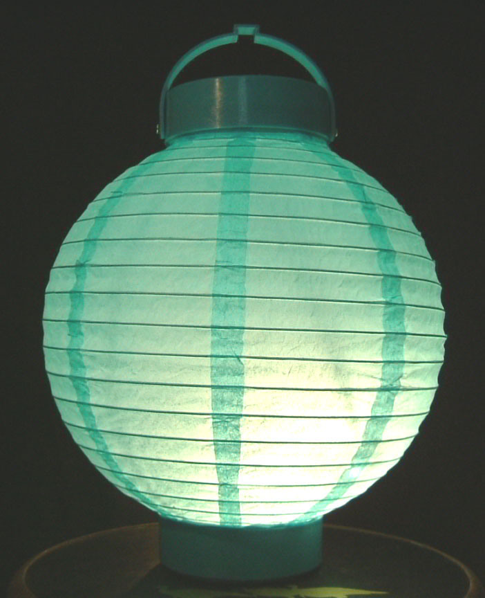 LED Battery Operated Lanterns - China Paper Lantern, Led Lamp