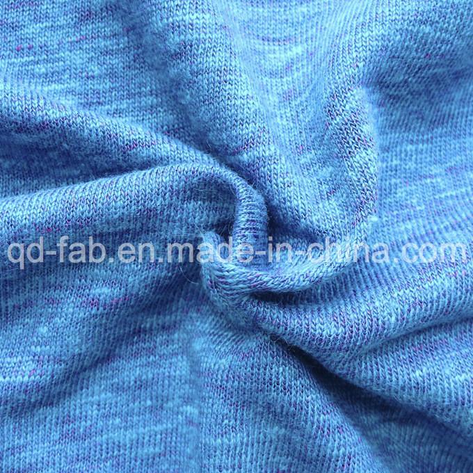 Linen/Poly Knitting T-Shirt Jersey (QF13-0456)