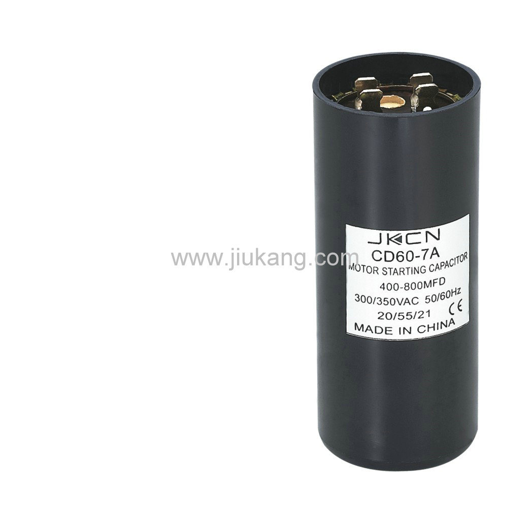 China Motor Starting Capacitor Cd60 7a China Capacitor