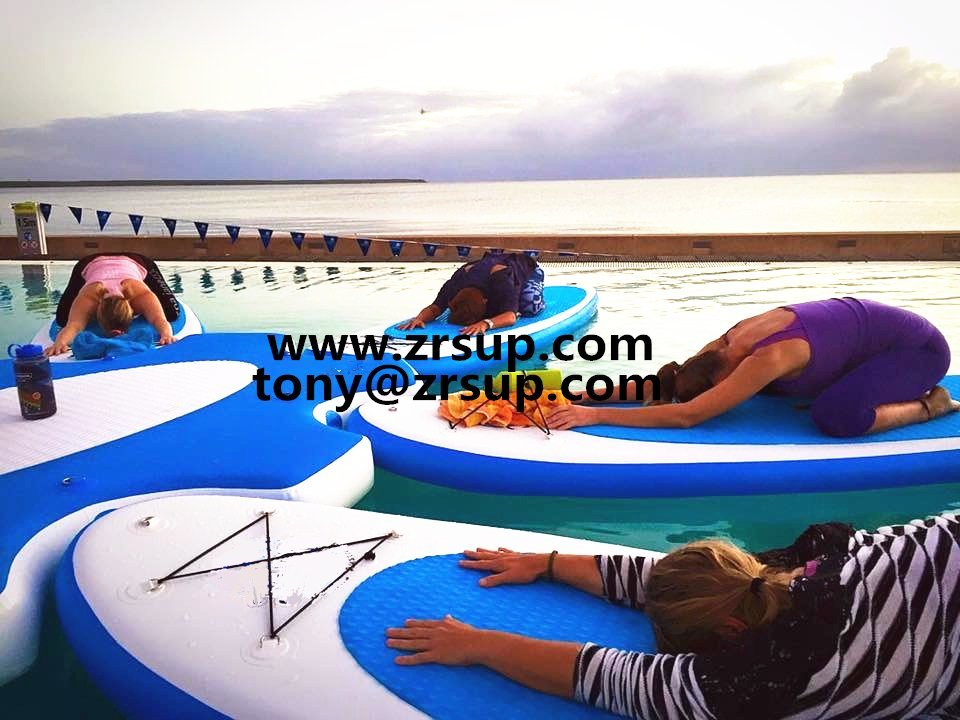 Tourism Portable Good Quality Design Fashion Cheap Hot Sales Waterproof Inflatable Yoga Sup