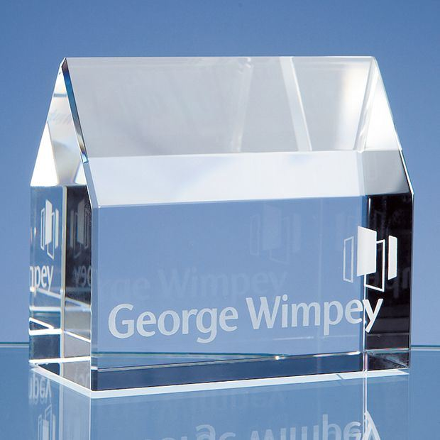 Beautiful 3D Laser Crystal Glass Cube Paperweight