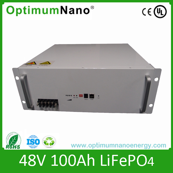 Lithium Ion Rechargeable Battery Pack 48V 100ah