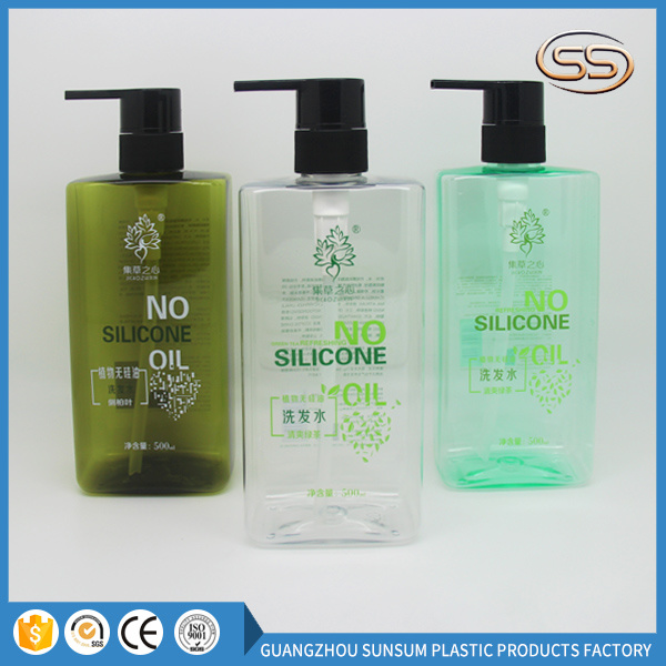 Hair Shampoo Bottle Hotel Emulsion Containers