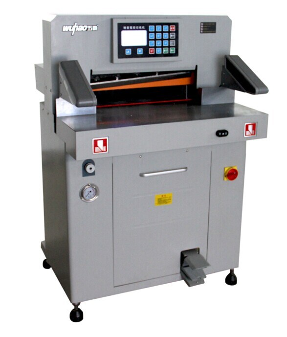 CE Certification and New Condition Hydraulic Paper Cutting Machine (5208T)