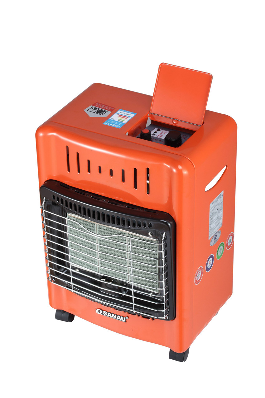 Mobile Gas Heater with 3plate Hight Efficiency Ceramic Burner Sn11-Af