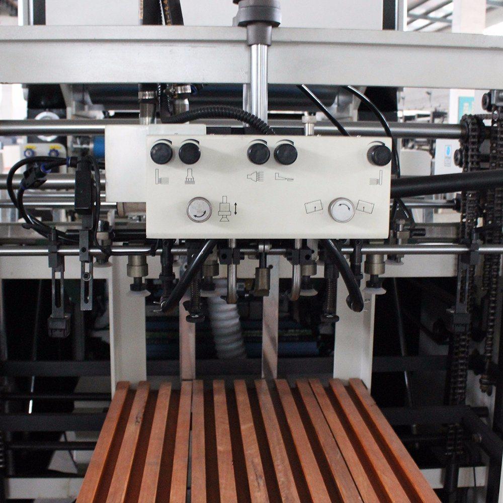 Msfm-1050e Auto Roll Chain Knife Laminator for Pet PVC Film