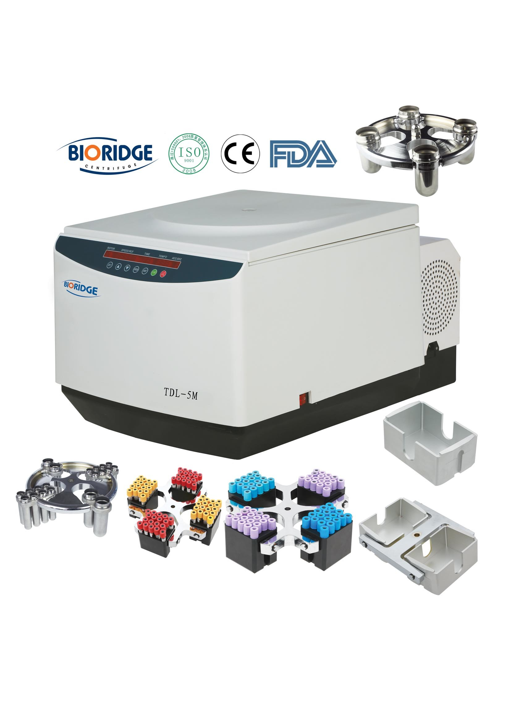 High Capacity Refrigerated Centrifuge (TDL-5M)