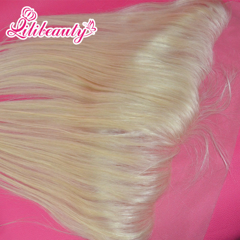 Straight Brazilian Human Hair 13X4 Hair Lace Frontal