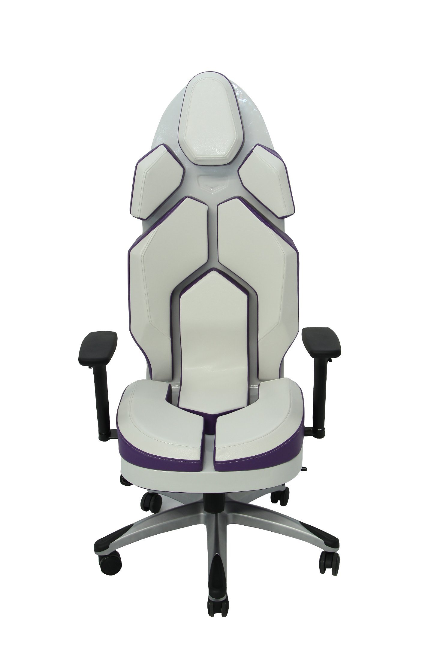 Luxury Purple Fashion PU Office Chair