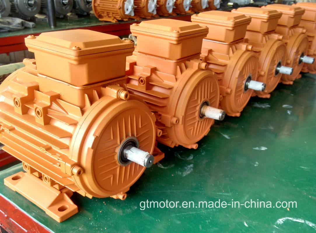 Low Voltage Three Phase AC Motor (0.12 -15kW, 230/400V)