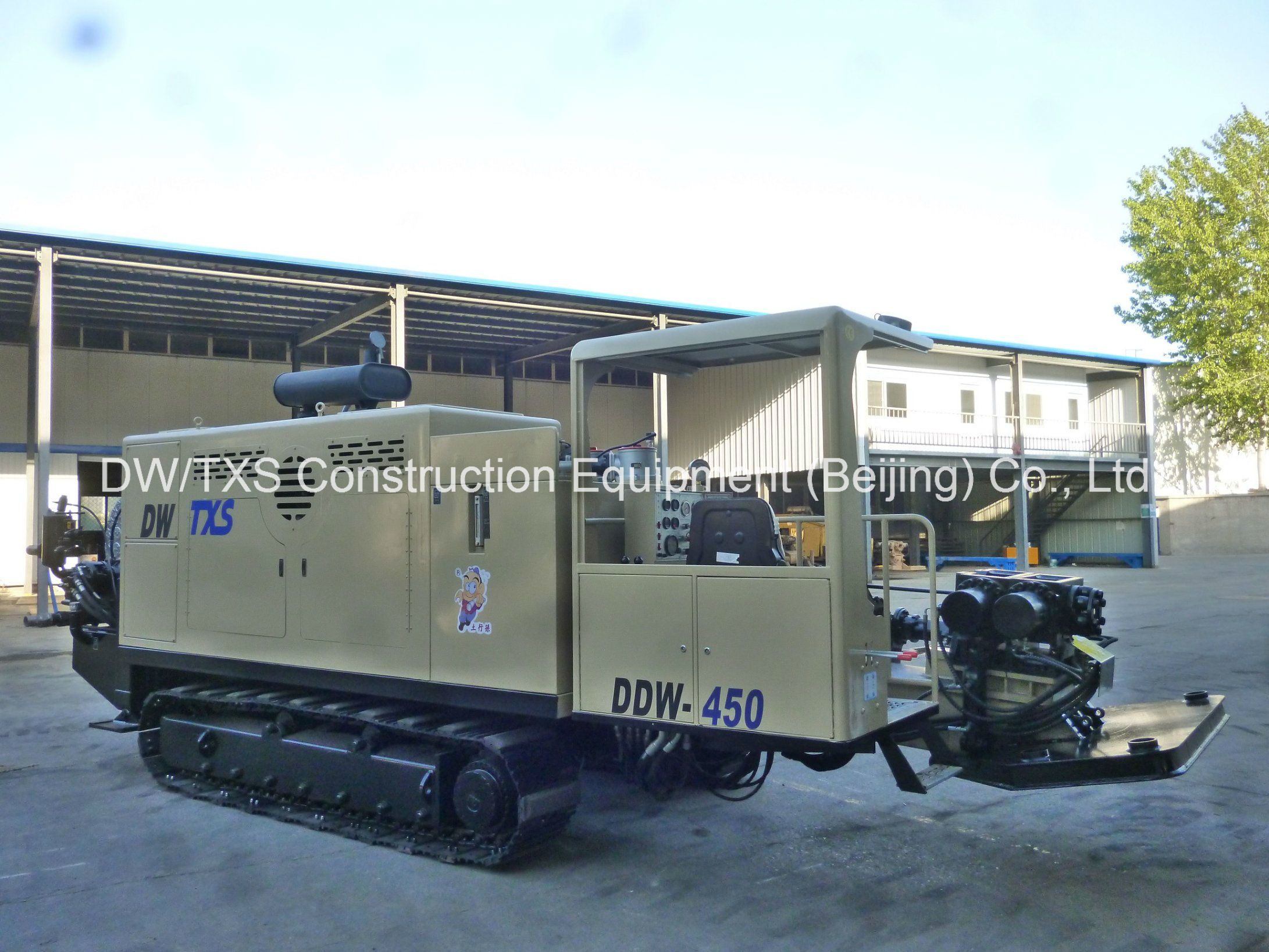 HDD Horizontal Directional Drilling Rig Ddw-450, Trenchless Drill Rig