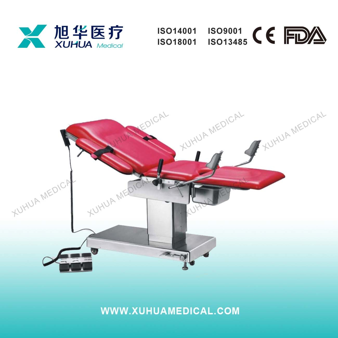 Stainless Steel Multifunctional Electric Obstetric Bed