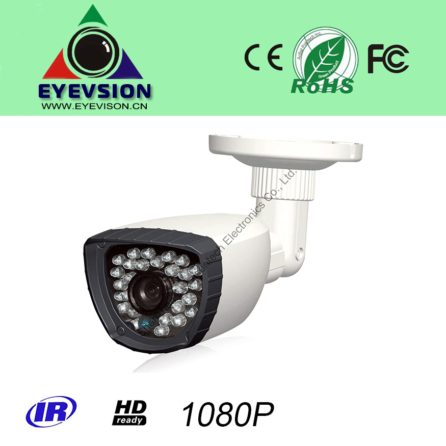 2.0MP CMOS HD (1080P) IP IR Weatherproof Bullet Camera (EV-IP6020012-IR25-T)