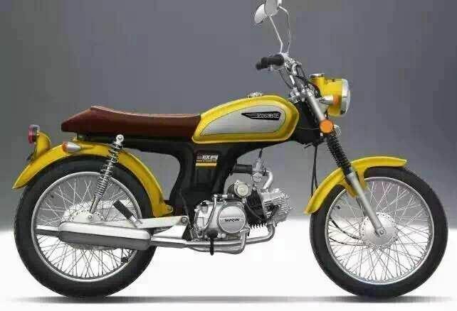 China New Cafe Bike Motorcycle 100cc