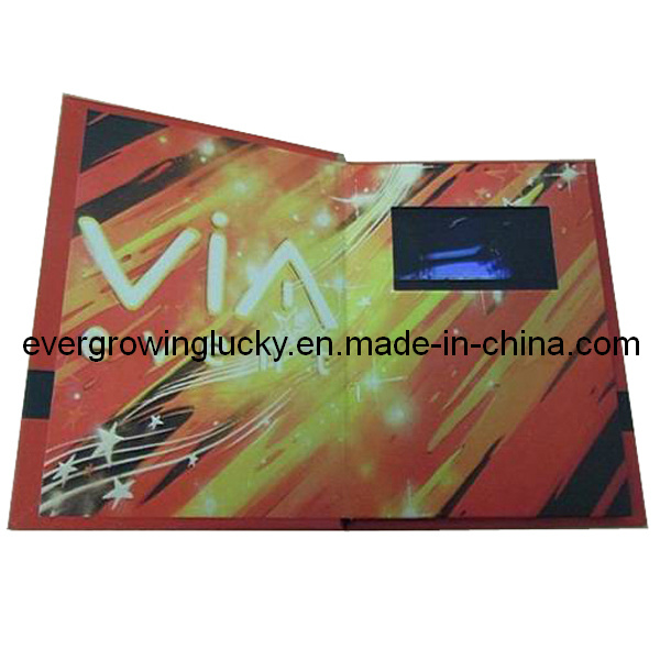Custom LCD Screen Video Card for Business Promotion