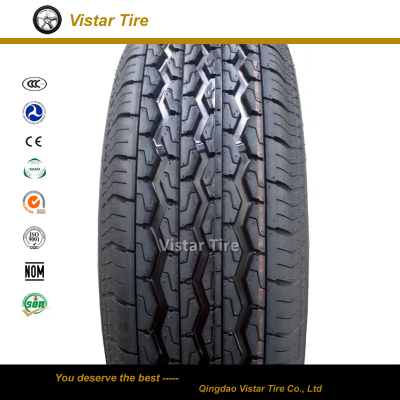 Chinese Cheap Commercial Passenger PCR Car Tire (155r12c, 155r13c, 165r13c)