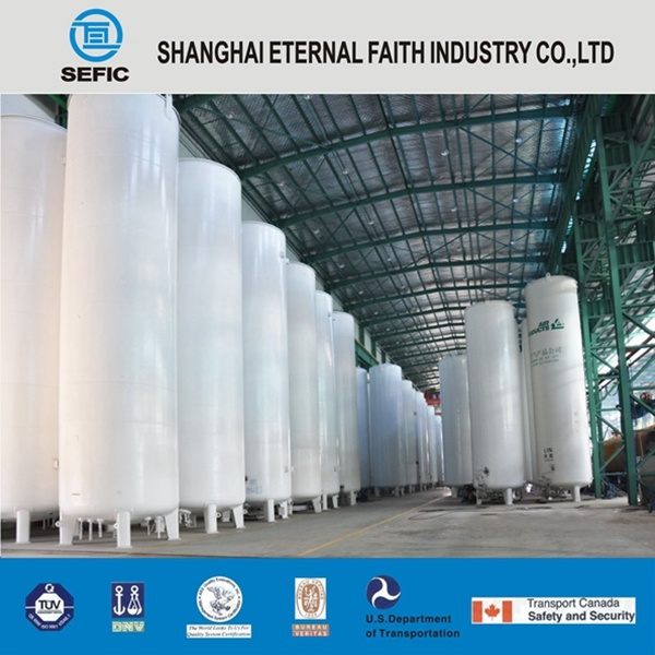 Industrial Used Low Pressure Liquid Nitrogen Storage Tank (CFL-20/0.8)