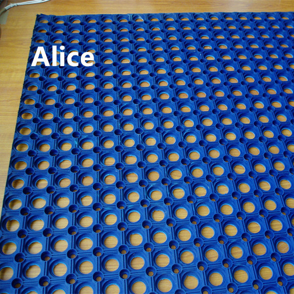 China Hotel Rubber Mats Antibacterial Hotel Mats Anti Slip