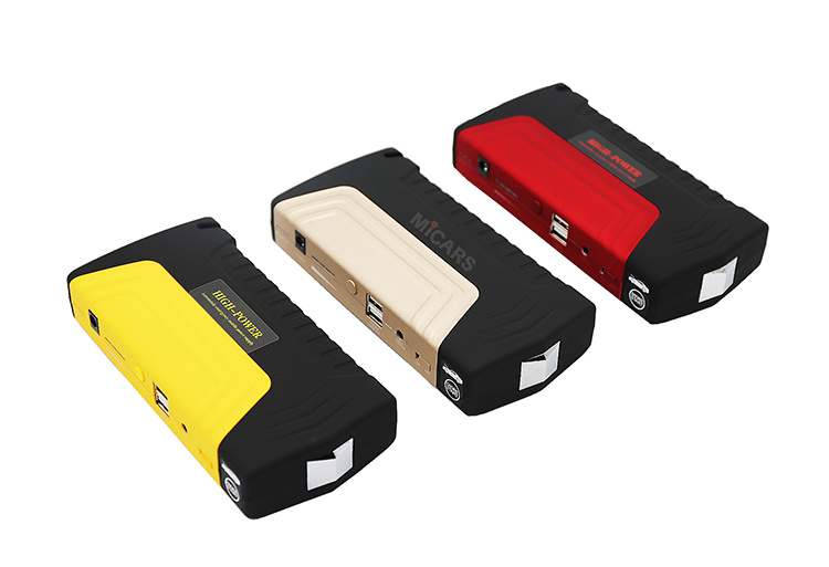 Newest Color Design Quick Charge Portable 16800mAh Car Jump Starter