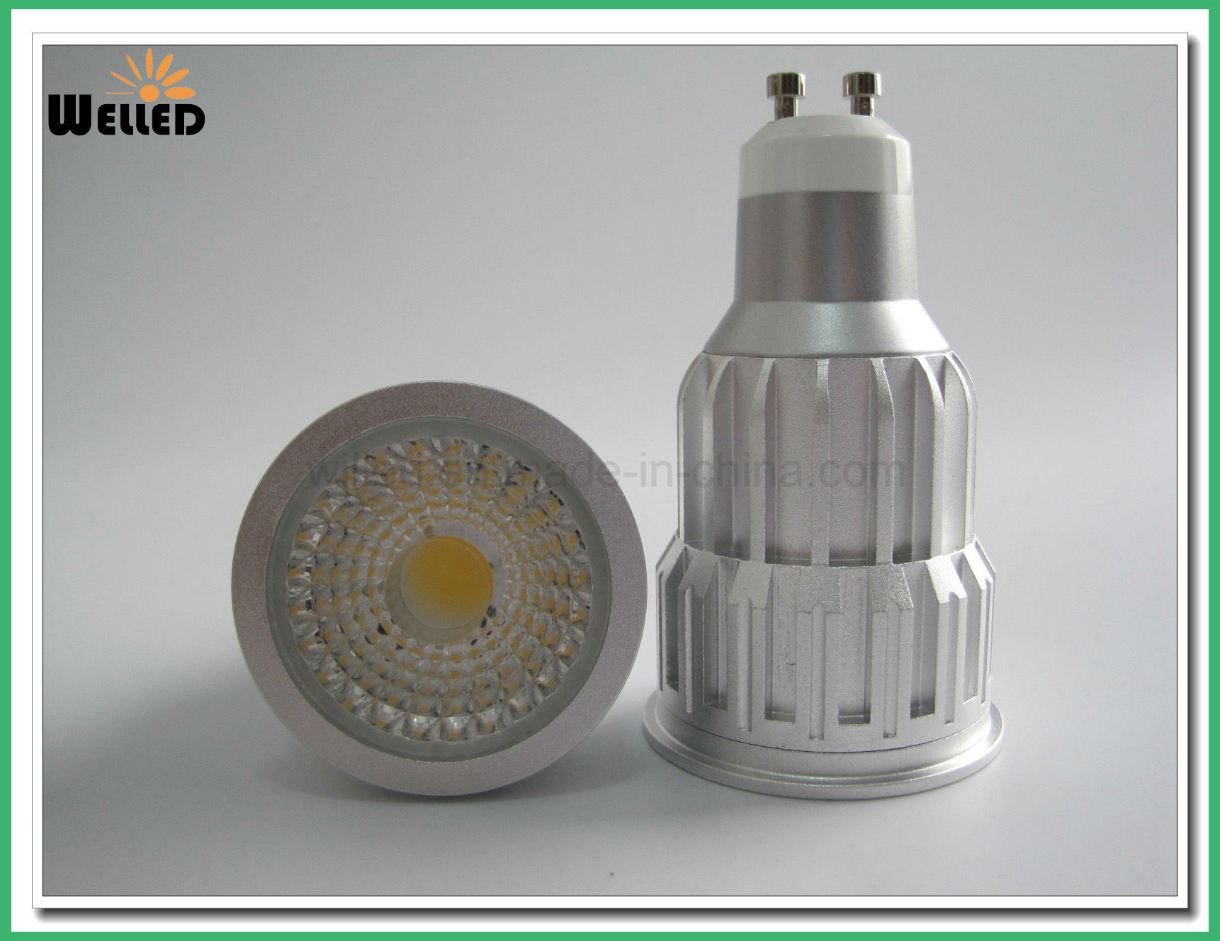 Dimmable 10W LED GU10 Spotlight with CREE COB LED Light