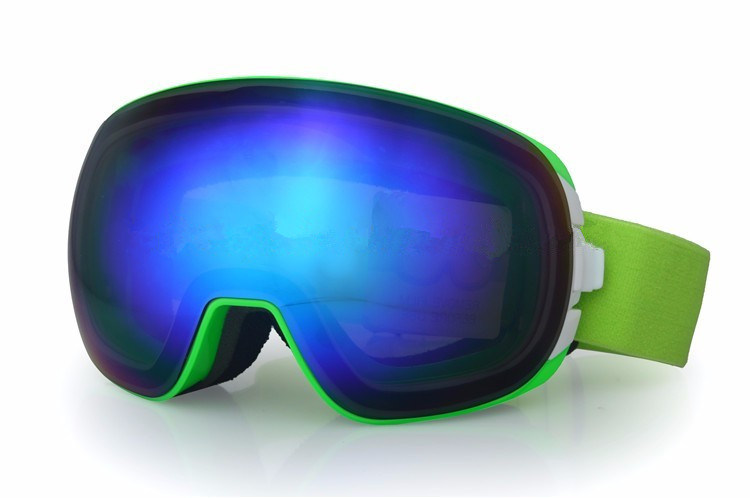 New Arrival Designer Ultraviolet Ski Goggles with Elastic Head Band