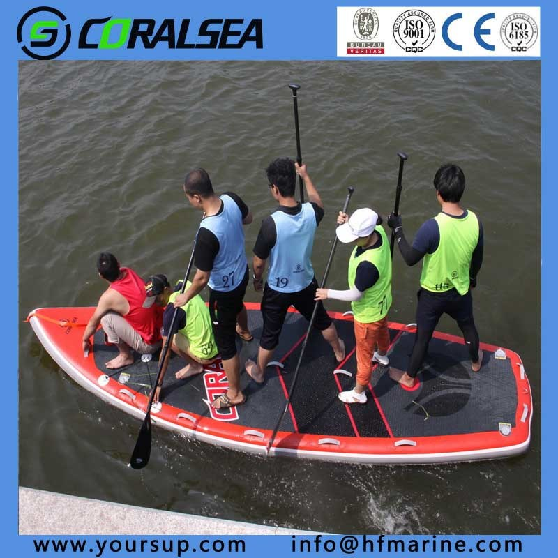"PVC/PVC Material/EVA/EVA Material/PVC Drop Stitch Water Sport Surfboard with High Quality (Giant15′4"")"