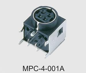 Mini DIN Power Connector (MPC-4-001A)