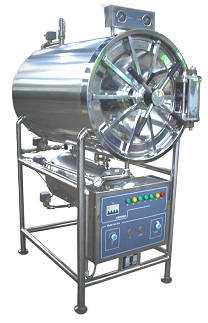 Horizontal Cylindrical Pressure Steam Sterilizer Autoclave (MCS-150/200/280/400YDC)