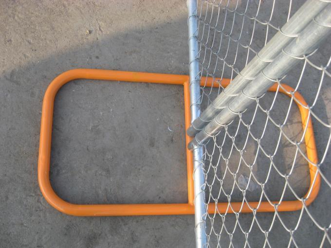 6′x12′ Mesh Opening 57mm X 57mm X 3.00mm Temporary Chain Link Fence Panels