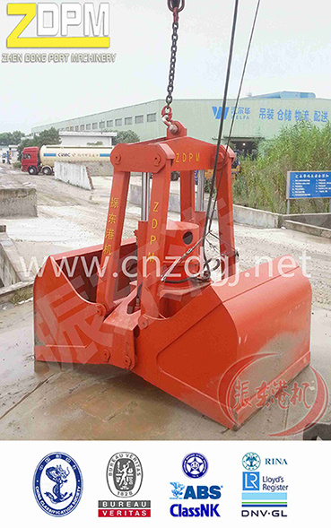 Electric Hydraulic/Mechanical Grab Bucket, Clamshell Grab Bucket, Grab Bucket