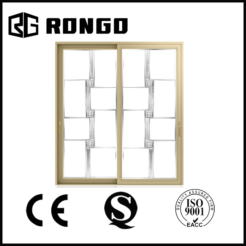 Double Glazing 5mm Sliding Doors /High Quality Aluminum Frame Doors