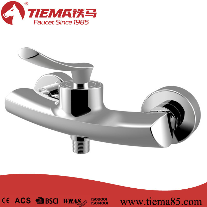 New Design Brass Chrome Bathroom Shower Mixer (ZS40102)