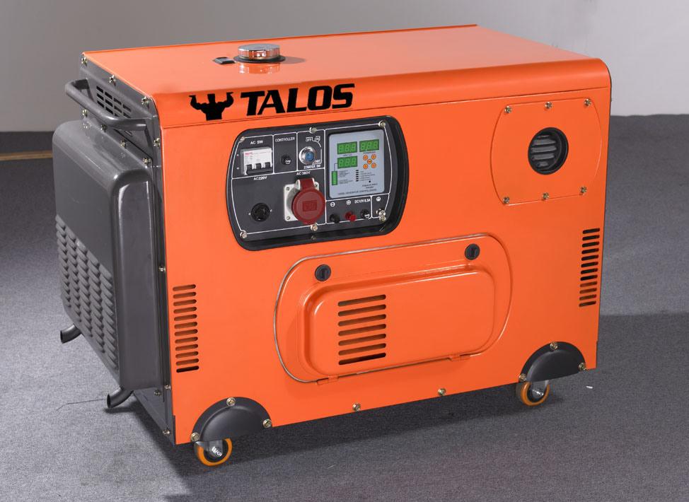 10 kVA Diesel Silent Generator 8 Kw Silent Generator (DG10000T3S)