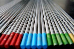 Pure Tungsten Electrode for TIG Welding 3.2*150mm