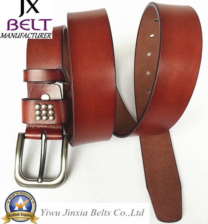 Man′s Split Leather Belt