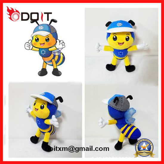 China Plush Toy Manufacturer Custom Made Bee Plush Toy