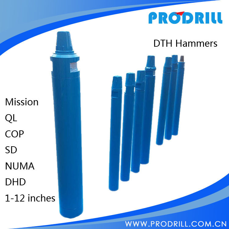Down The Hole DTH Air Jack Hammer for Rock Water Well Drilling